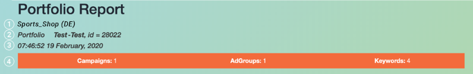 ADF_Knowledge base_Portfolio Report Screenshot